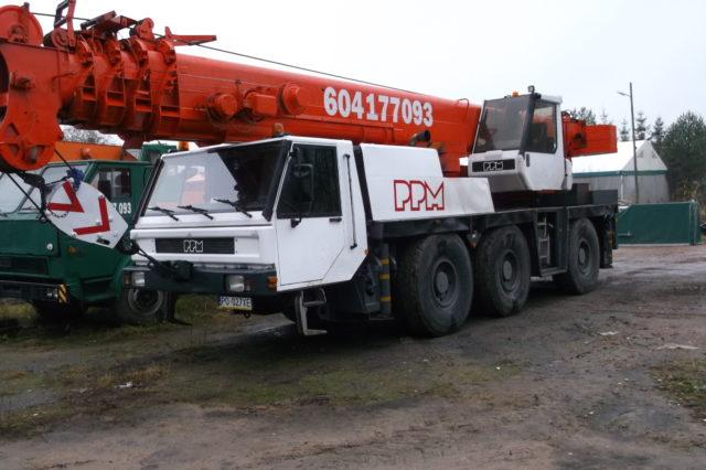 Dźwig 50 ton