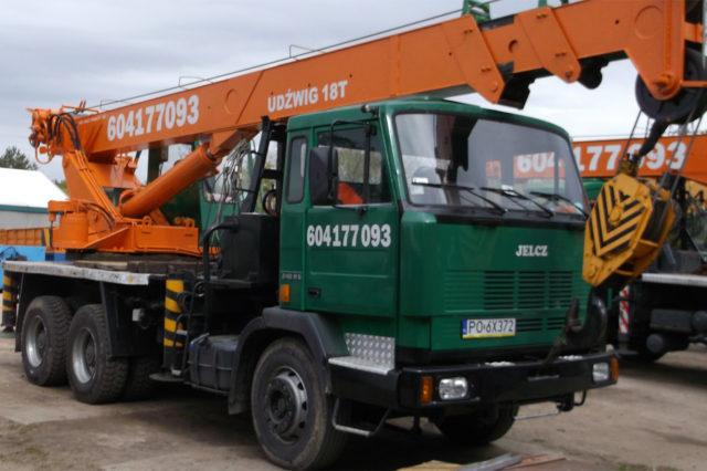 Dźwig 18 ton