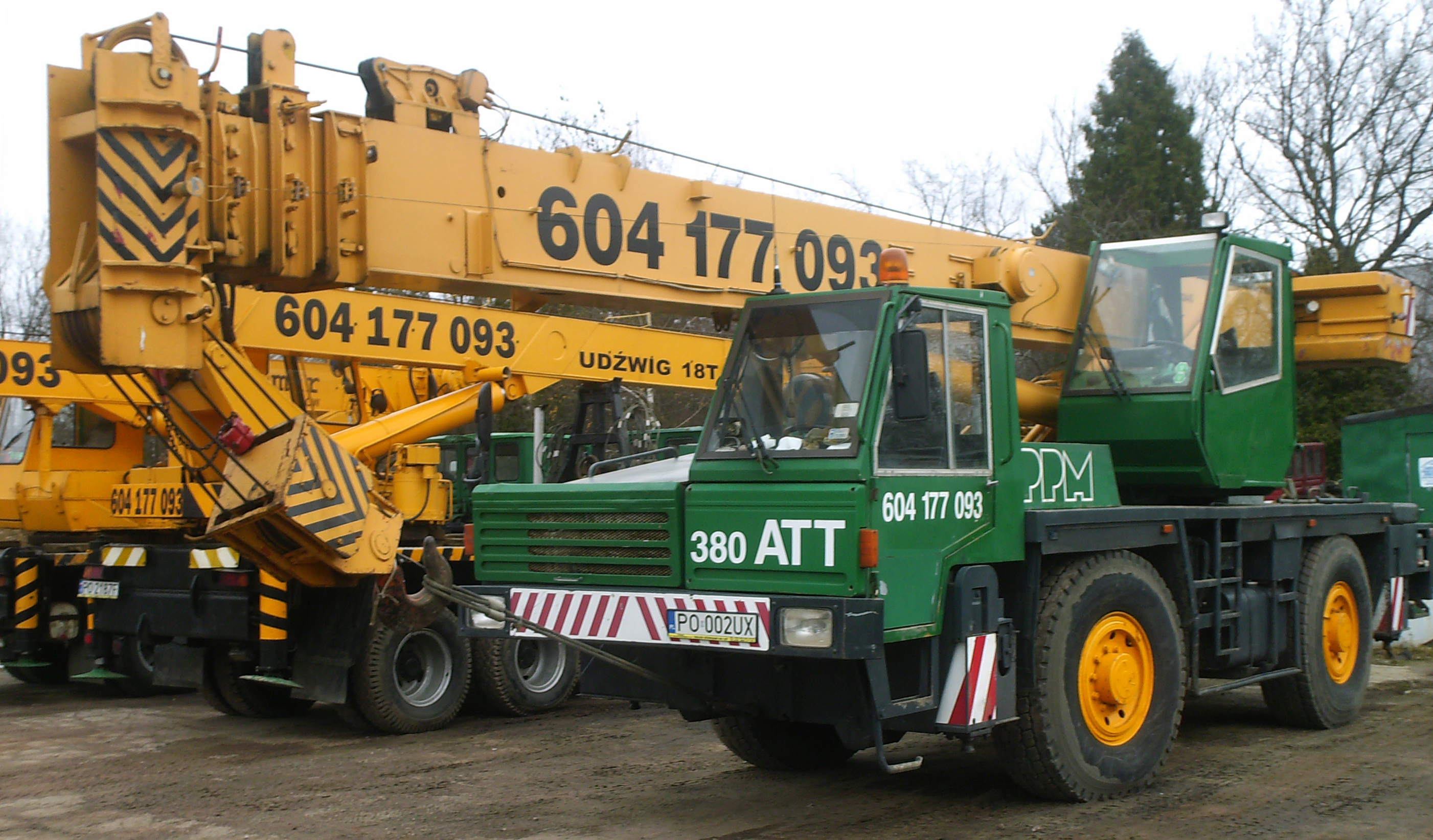 Dźwig 40 ton
